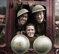 British Soldiers returning from WWI