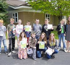 GHES sixth grade awards