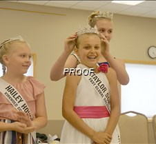 Jr. Miss Princess crowning