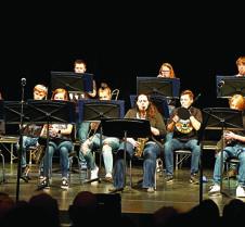 Jazz band, brass