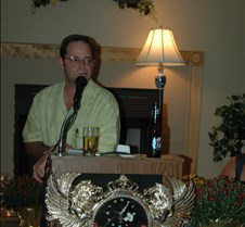Rick Holtmeyer & clock