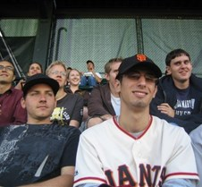 Giants Game, Josh & Dan