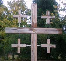 crosses, rough cut