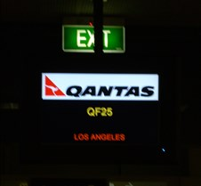 Gate 8 Departure Board