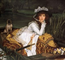 055Young Lady in a Boat-James Tissot-187