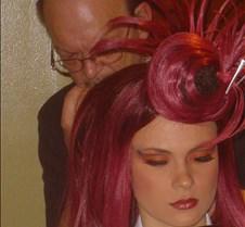 Ron Hawkins applies wig-JO2