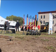 McQuillen Place groundbreaking, October 20, 2014
