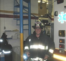 Ed the new firefighter