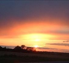 sunset - South Brunswick sunset 1
