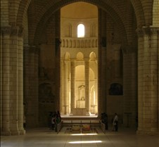 Abbaye le Fontevraud - Interior Chapel