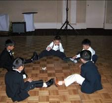 Kids playing on floor