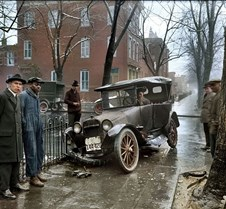 Car crash Washington D.C., 1921