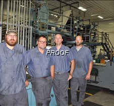 Pressmen at Quinco