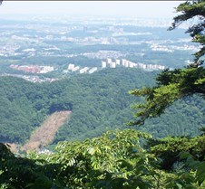 View off Takao after lift 2 zoom