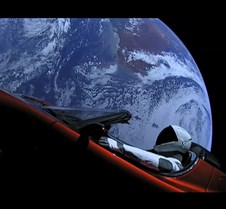 Tesla and Starman