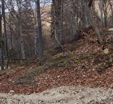 Cruce galbena Traseu urcare: Racadau - Crucurul mare (Ruia)