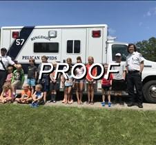 done bible school ambulance