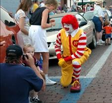 Ronald McD visit