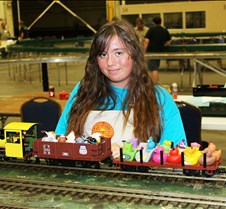 Samantha Coley & Her Live Steam Train