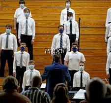 Varsity choir men