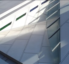 Window: eyelid, blue/green glass calmimg