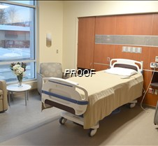 one of the birthing rooms