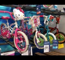 Wee girls bikes