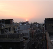 Sunset in Delhi
