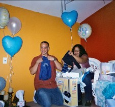 Damary's Baby Shower Good food and good company. That's what the birth of a new baby can bring to the world.