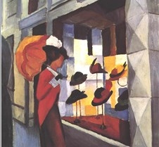 Hat Shop-August Macke-1914-Museum Folkwa