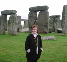 Jane at Stonehenge