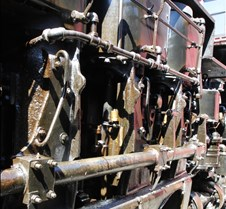 Sierra Railway #2 Shay 3 Piston Valves