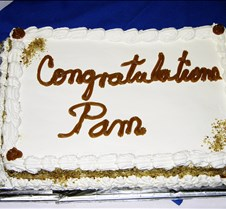Pam Wright's Retirement Dinner Party