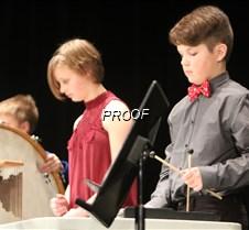 concert 6 grade drums