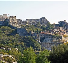Medieval Village of Les Baux Provence