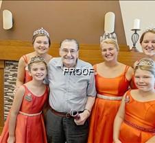 Leo Zens with royalty