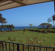 Kauai view from Lanai