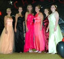 Queens in gowns