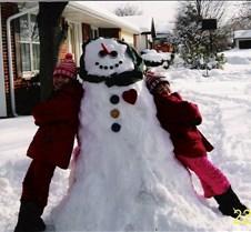 2006 01 Ruthie Snowman Kaylie