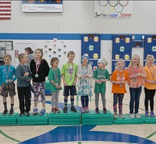Cup stacking medals