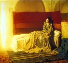 201The Annunciation-Henry Ossawa Tanner-