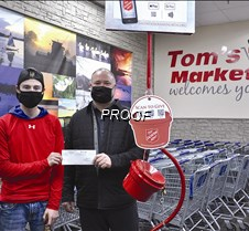 Marthaler Chev gives to Salvaion Army