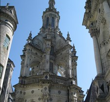 Chambord - Double Staircase Roof