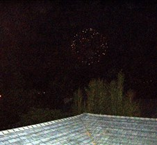 On the roof for 4th July