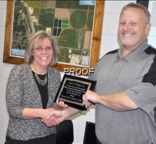 Formo honored for service