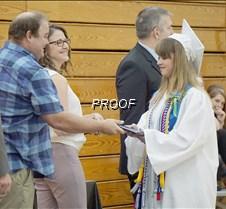 Sydney Metz receives diploma