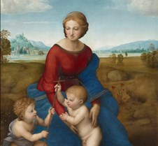 204Madonna of the Meadow - Raphael - 150