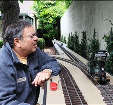 John Polen With His K&S #1 Loco