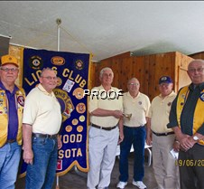 Lion's Club leadership