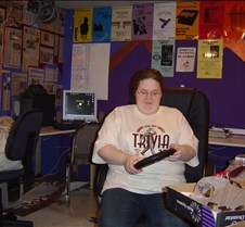 Trivia 2004 Patty with clock